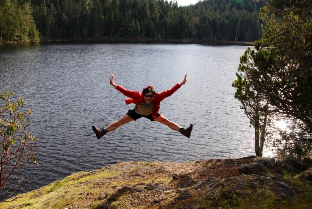 Backpacking the Sunshine Coast Trail - Wednesday Lake