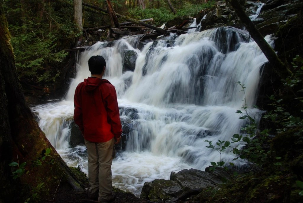 Backpacking the Sunshine Coast Trail - Gorge Falls