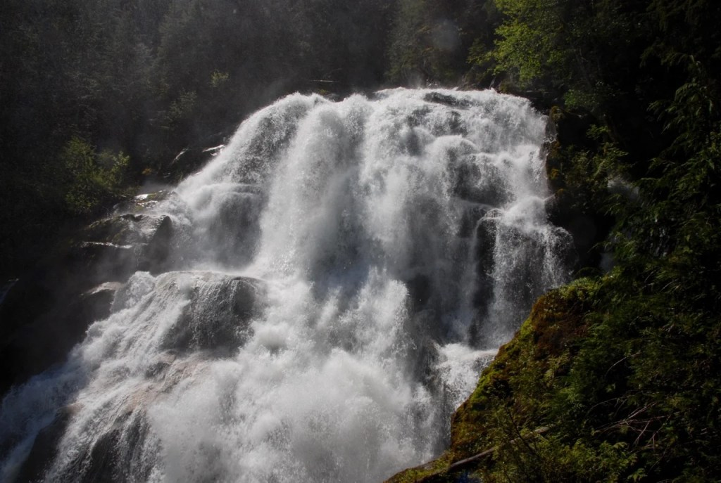 Crooked Falls in Squamish