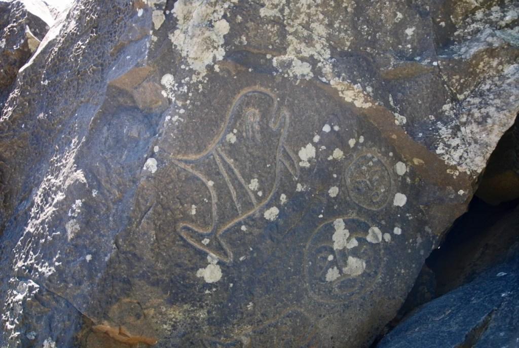 Petroglyphs at Wedding Rocks on the Ozette Loop