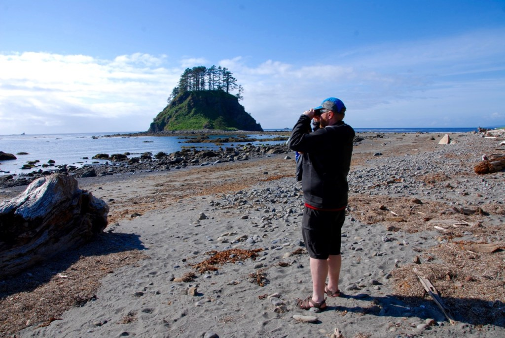 Tskawahyah Island on the Ozette Loop