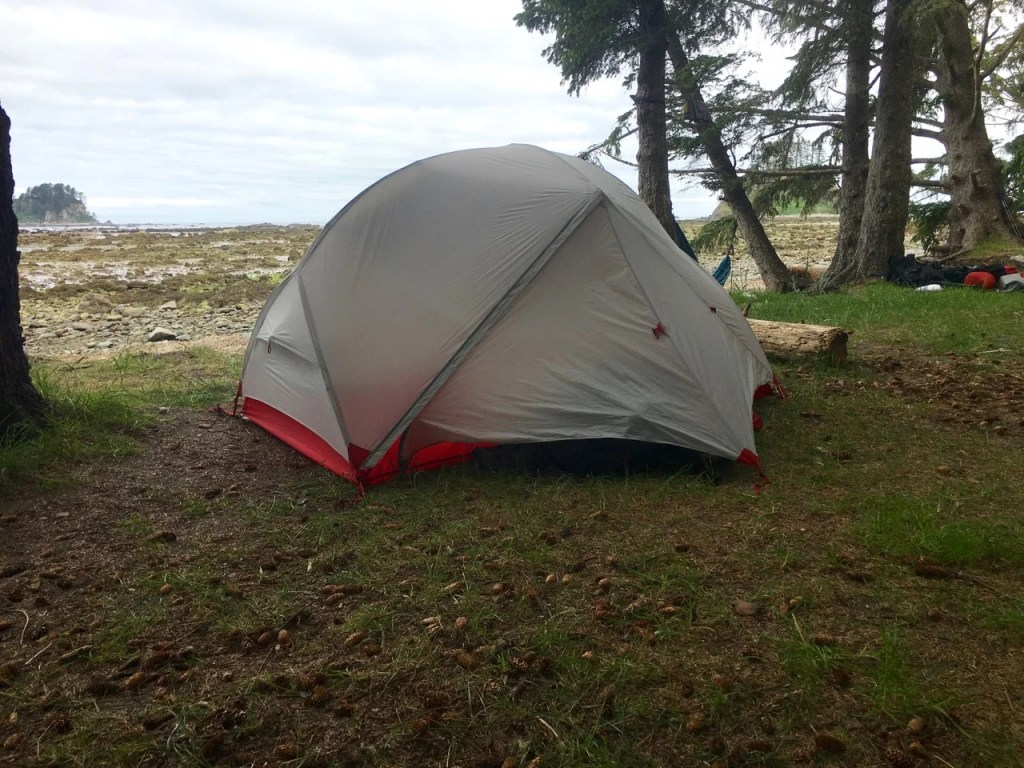 Camping at Cape Alava on the Ozette Loop
