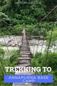 Trekking to Annapurna Base Camp. Trekking to the Annapurna Sanctuary. A 10 day trek to Annapurna Base Camp