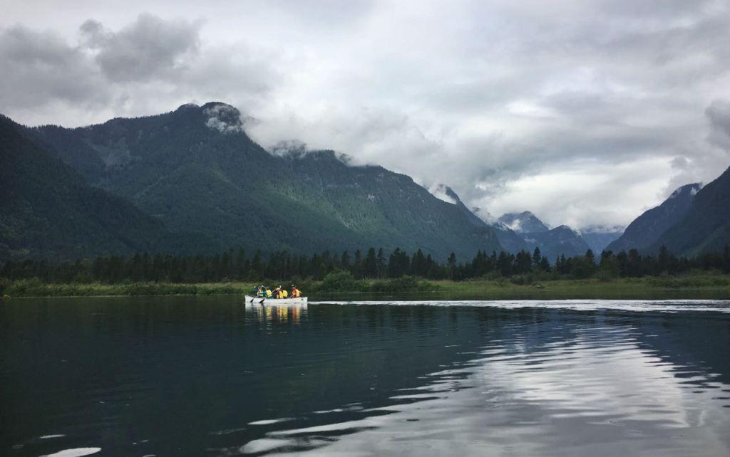 Canoeing in Widgeon Slough