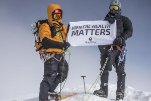 Mind vs. Mountain show at the Vancouver International Mountain Film Festival, VIMFF 2017