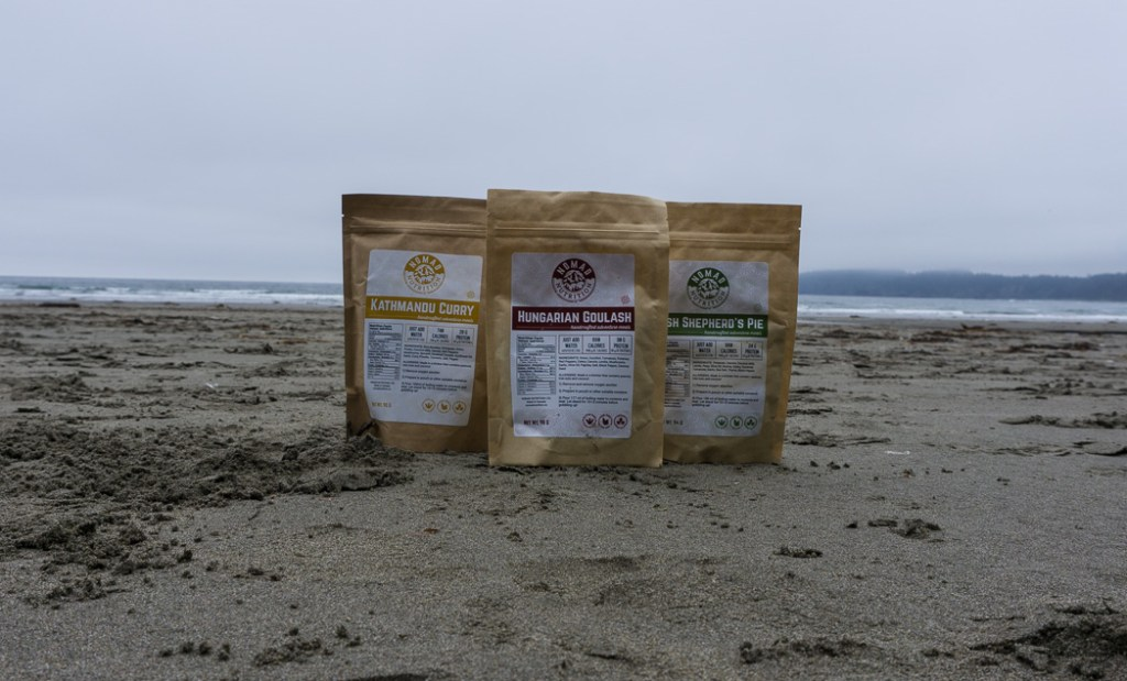 Nomad Nutrition dehydrated backpacking meals review. Gluten free and vegan dehydrated backpacking meals - just add boiling water.