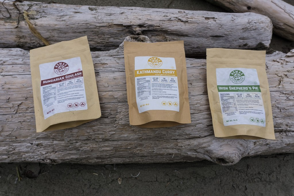 A review of three flavours of Nomad Nutrition dehydrated backpacking meals. Gluten free and vegan dehydrated backpacking meals - just add boiling water.