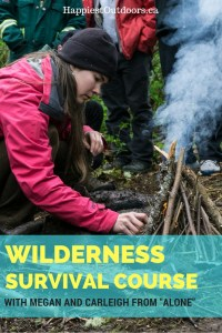 "What it's like to take a wilderness survival course with Megan Hanacek and Carleigh Fairchild of History Channel's ""Alone"" 