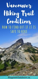 How to check hiking trail conditions for Vancouver. How to check hiking trail conditions in Vancouver, BC, Canada. Find out if your favourite Vancouver area trail is snow-free and safe to hike. Hiking trails in Vancouver, British Columbia. #hiking #Vancouver