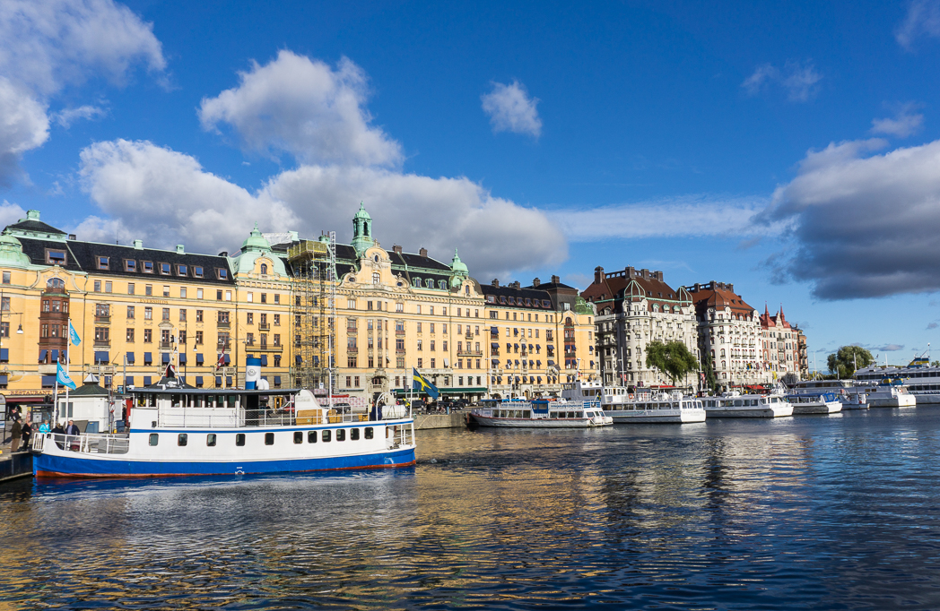 Strandvagen in Stockholm, Sweden. 30 photos of Stockholm that will inspire you to visit.