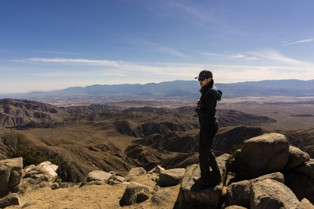 A view from Keys View in Joshua Tree National Park, one of 15 awesome things to do in Joshua Tree. Add Keys View to your Joshua Tree bucketlist.