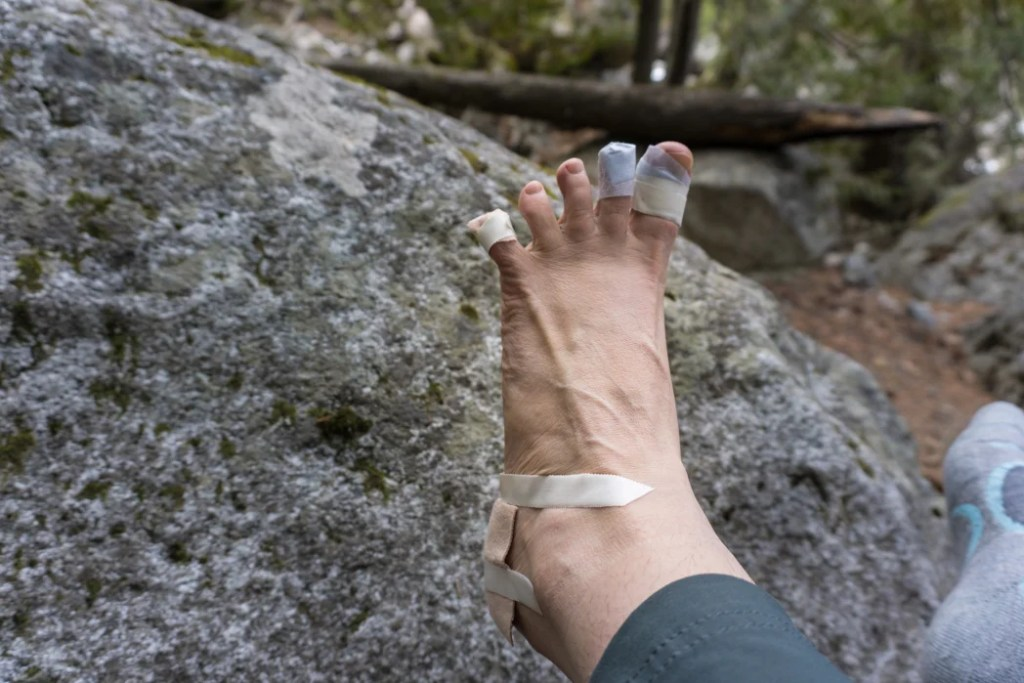 Hikers get blisters. Blister dressings make great stocking stuffers for hikers and backpackers.