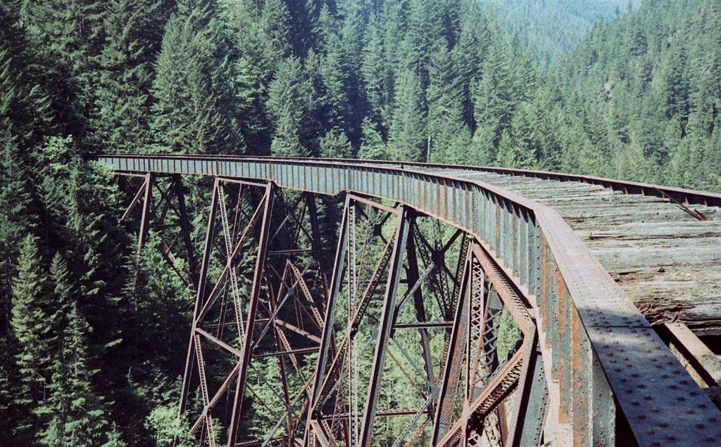 An abandoned train trestle at Ladner Creek near Hope. Just one of 15 unusual hikes near Vancouver.