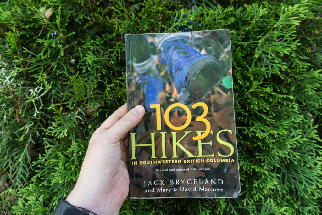 The fifth edition of 103 Hikes. Learn about the history of hiking guide books in BC from the 1st edition of 103 hikes in 1973 to the new 105 Hikes in and Around Southwestern British Columbia, published in 2018.