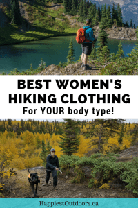 Best women's hiking clothing for your body type. 11 female hikers provide their expert recommendations on women's hiking clothing for curvy, petite, plus-sized, tall and slim body types.