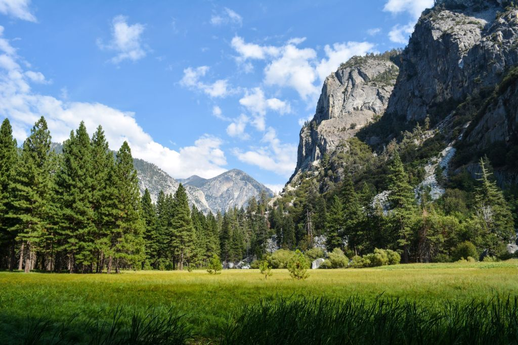 Zumwalt Meadow in Kings Canyon National Park - just one of many things to do in Sequoia and Kings Canyon National Parks.