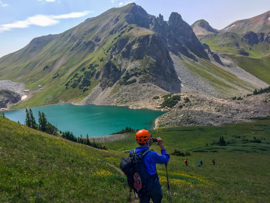 Capitol Lake near Aspen. One of the best lake hikes in Colorado.