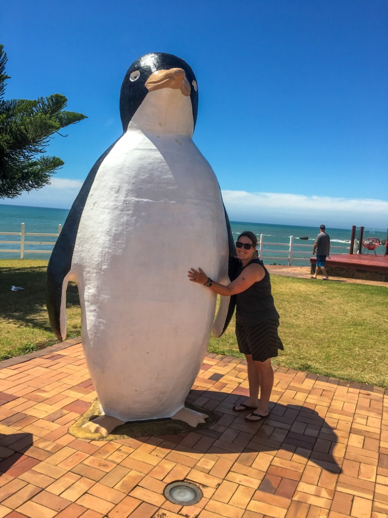 The giant penguin in the town of Penguin, Tasmania. Just one of over 40 things to do in Devonport and Tasmania's North West.