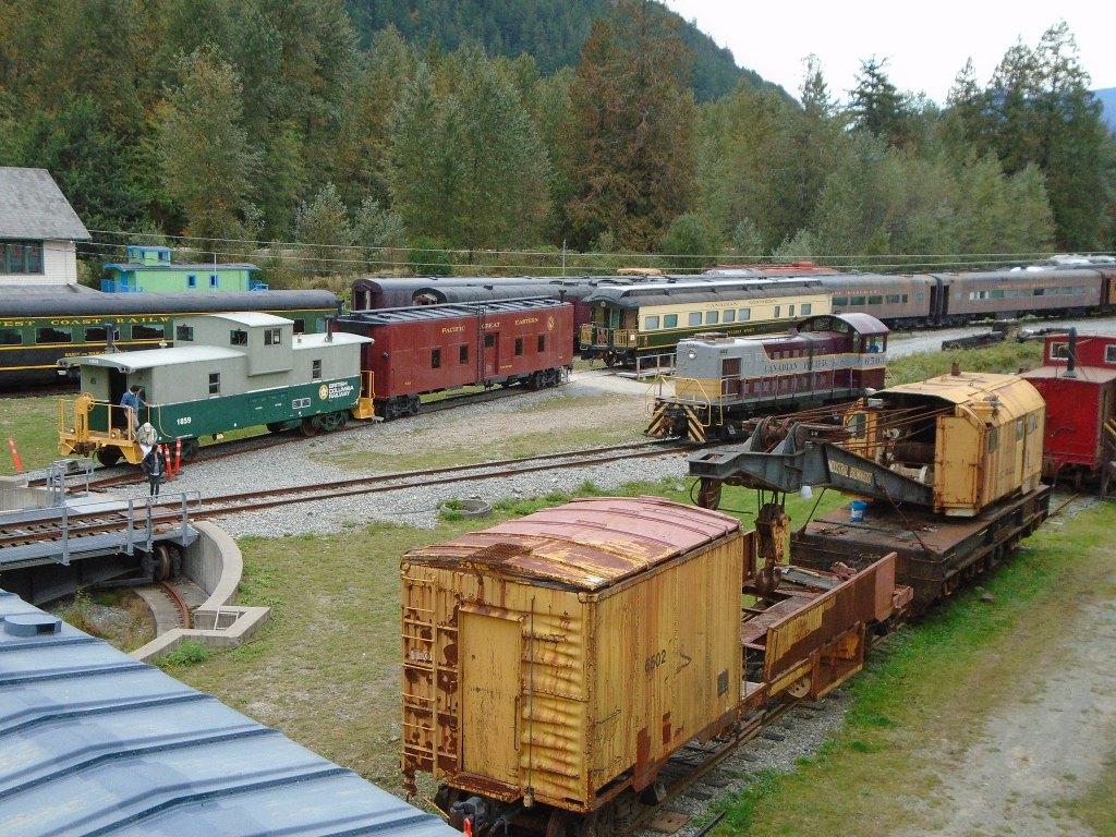 West Coast Railway Heritage Park in Squamish