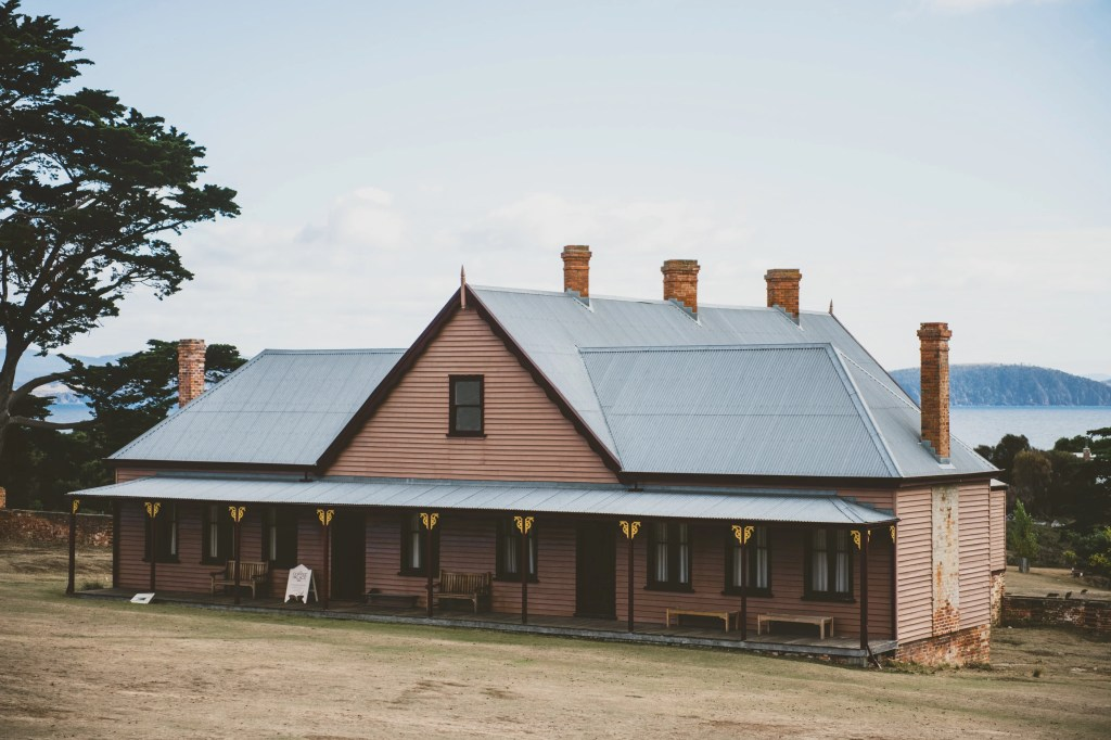 The Coffee Palace at Darlington Probation Station on Maria Island, Tasmania, Australia