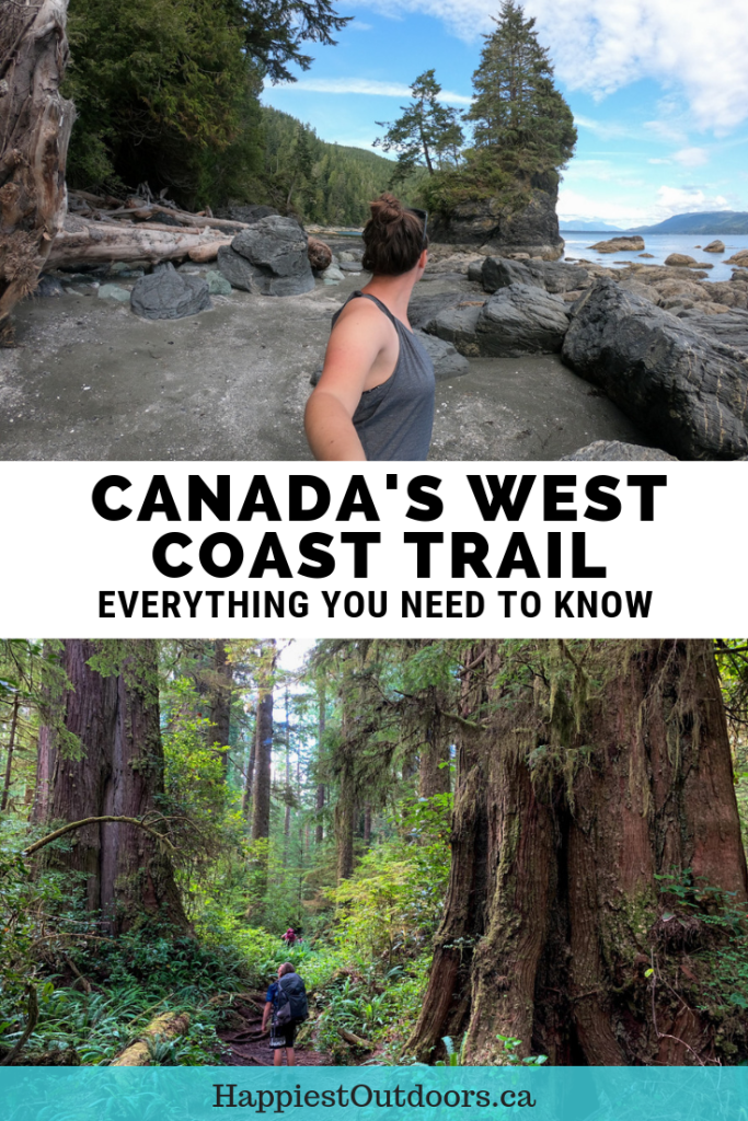 Everything you need to know to hike the West Coast Trail in Pacific Rim National Park, Canada. A complete trail guide to the West Coast Trail. Hiking the West Coast Trail. #WestCoastTrail #Canada #BritishColumbia #hiking