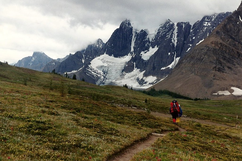 Rockwall Trail in Kootenay National Park in Canada