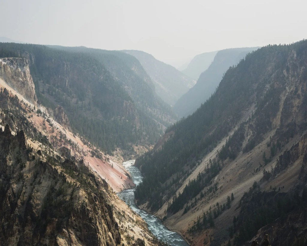 Point Sublime Trail in Yellowstone National Park