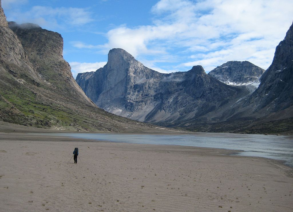 Hiking to Thor Peak in Auyuittuq National Park