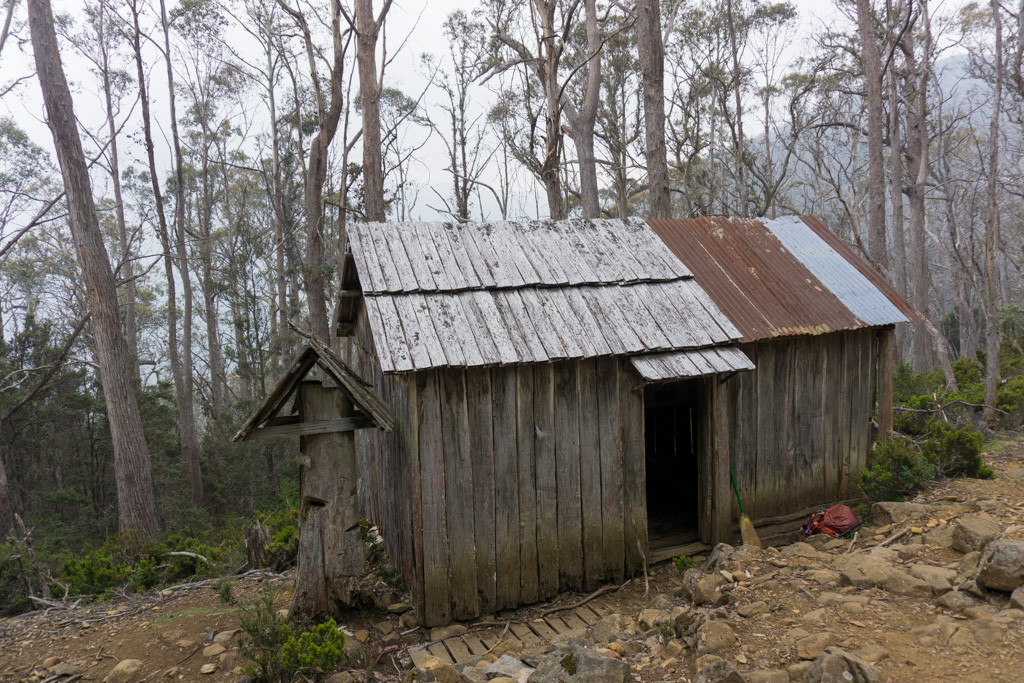 Trappers Hut in Walls of Jerusalem National Park, Tasmania