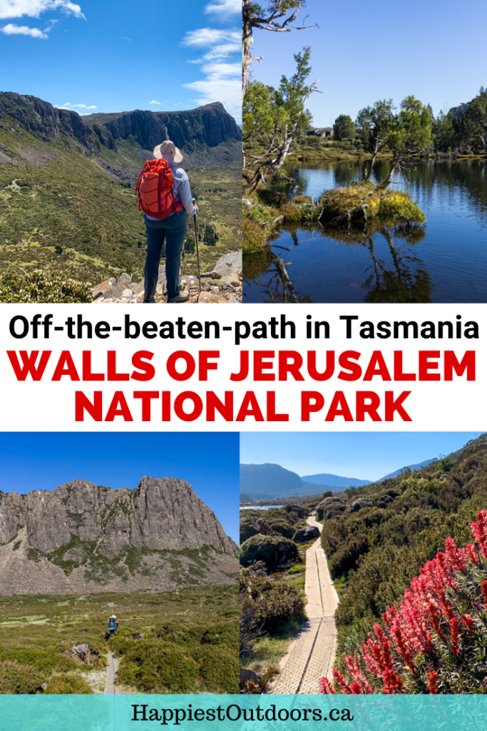 Everything you need to know to visit Walls of Jerusalem National Park in Tasmania, Australia.