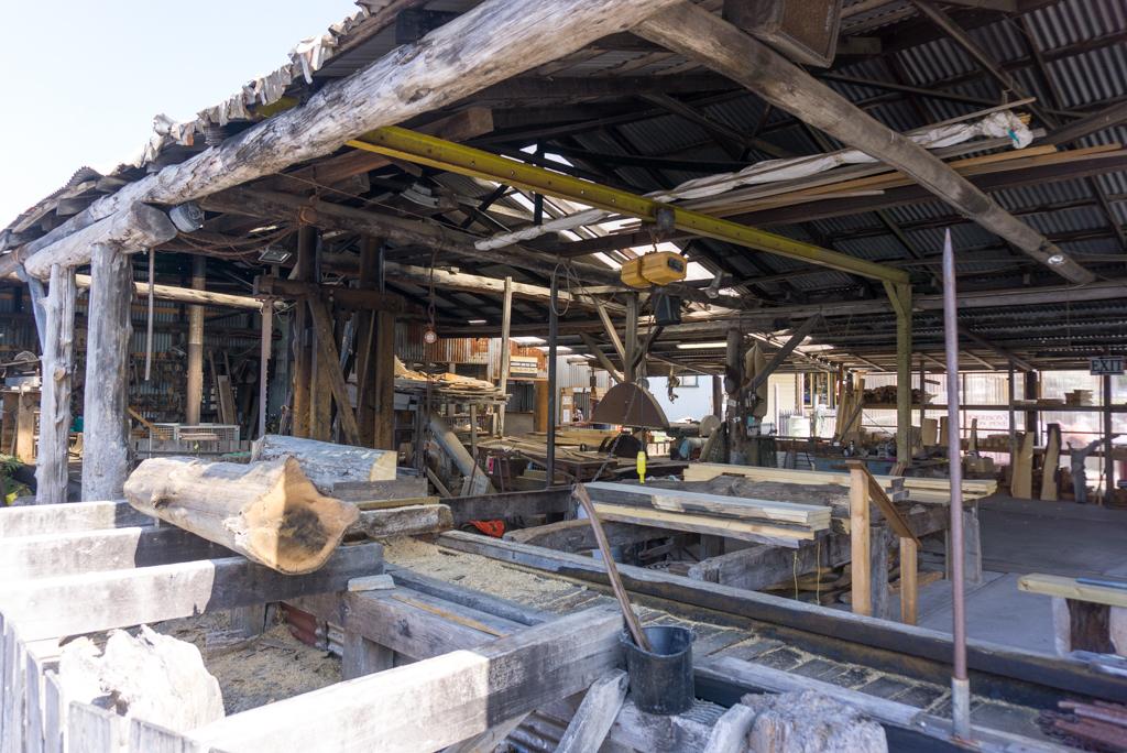 Morrison's Huon Pine Sawmill in Strahan