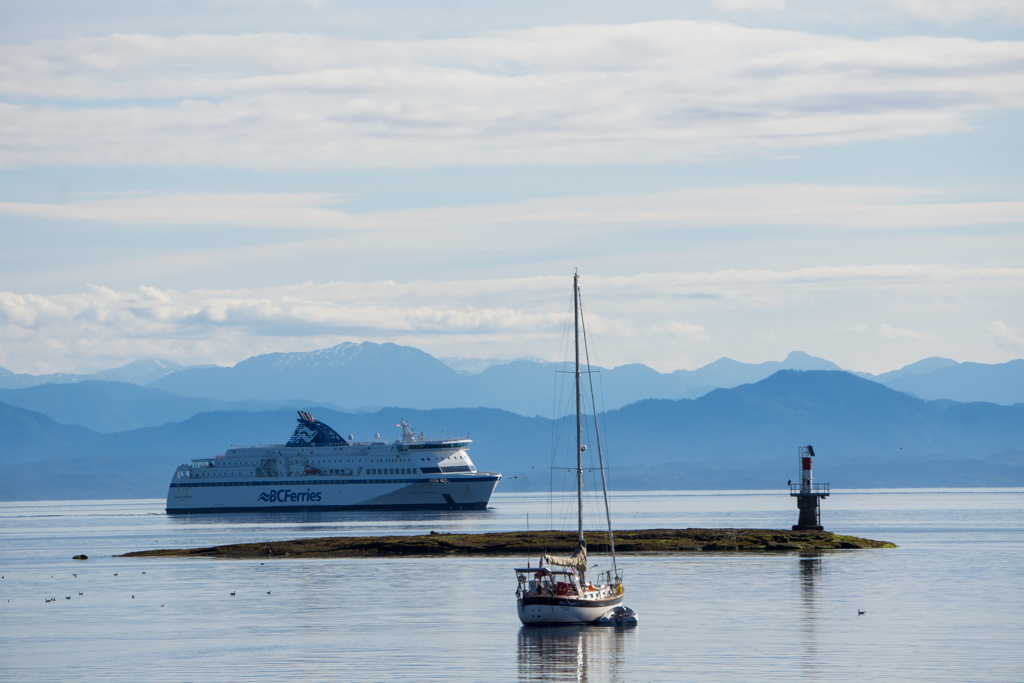BC Ferry in Port Hardy