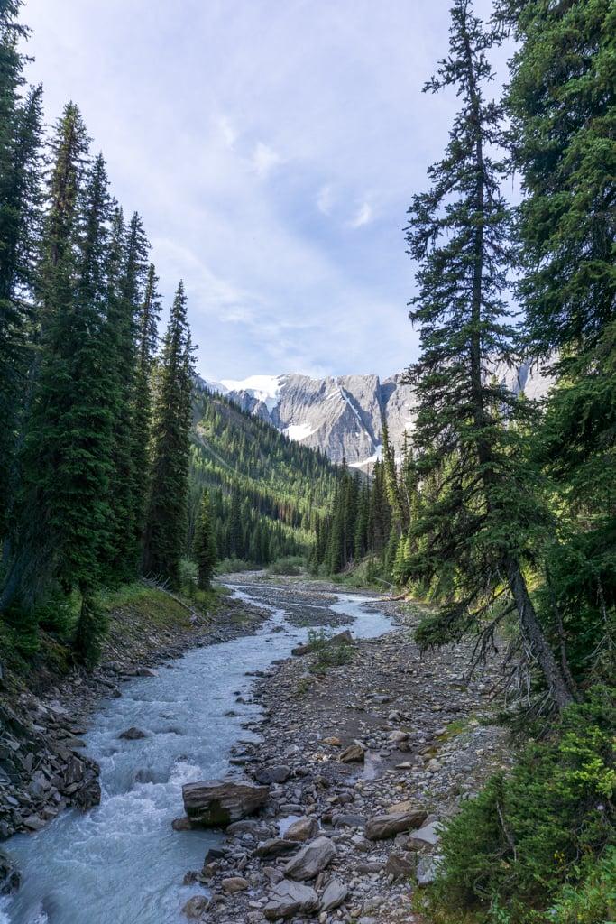 Rockwall Trail near Tumbling Creek Camp