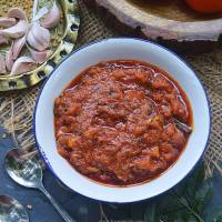 Tomato Thokku | Instant Tomato Relish in Cooker