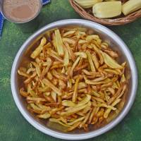 Raw Jackfruit Chips| Chakka Vathal | Chakka Chips| Chakka Varuthathu