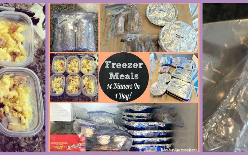 FREEZER MEALS | PREP AND RECIPES