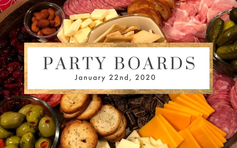 LEARNING TO MAKE PARTY BOARDS