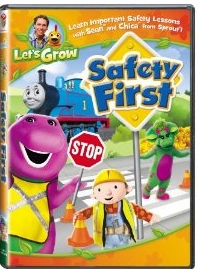 Let's Grown Safety First DVD