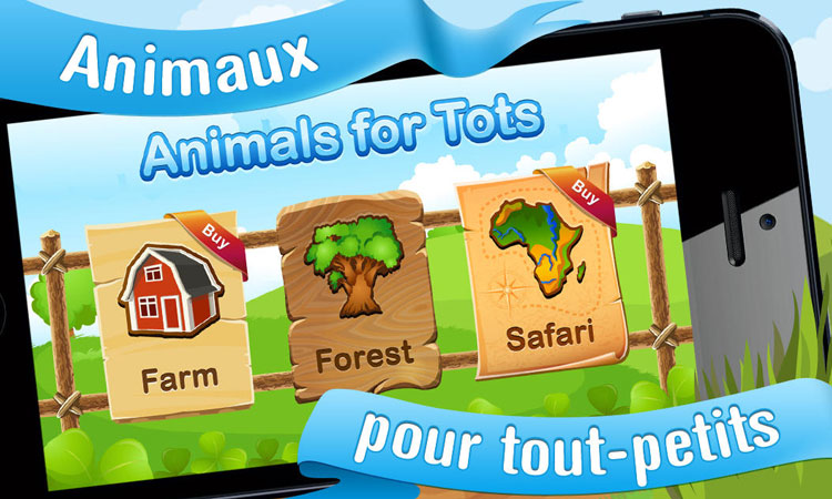 Animals for Tots for iPhone and iPad