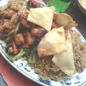 Garlic Shrimp and Chinese Restaurant