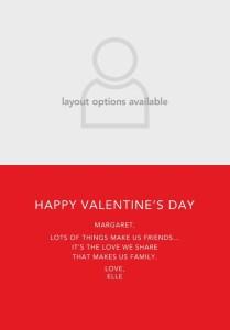 Treat.com Valentine's Day Card Inside