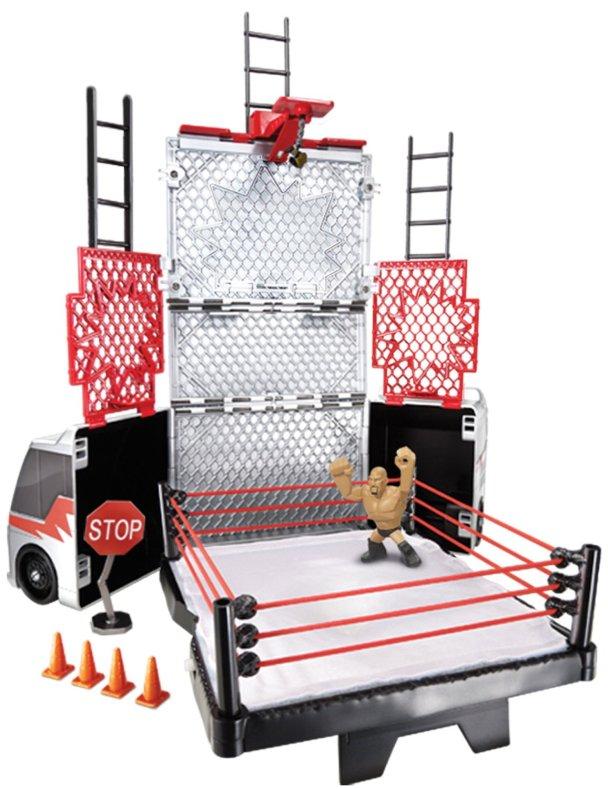 WWE Tour Bus