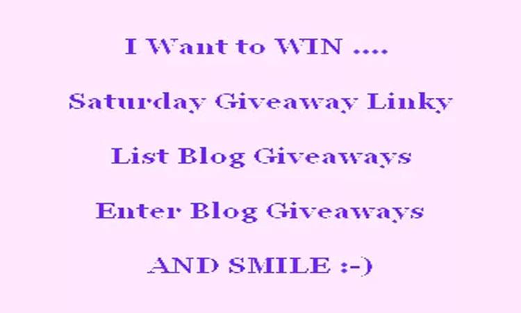 10/25 Weekly Giveaway Link Up #Giveaways #contestalert