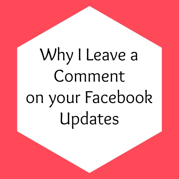 Why I Leave a Comment Instead of Like on Facebook