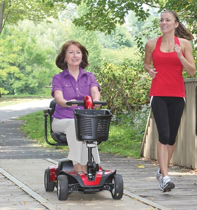 Live Life to the Fullest, No Matter your Age, with Pride Mobility