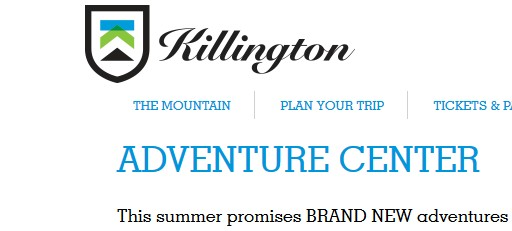 Killington Resort's Summer Adventure Center #KillingtonMoms #Beast365 Giveaway