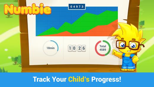 Numbie Parent Dashboard