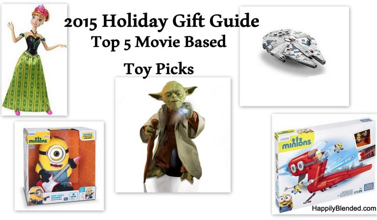 Holiday Gift Guide: Top 5 Movie Based Toy Picks