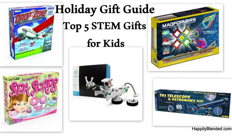 Holiday Gift Guide: Top 5 STEM Toys for Children