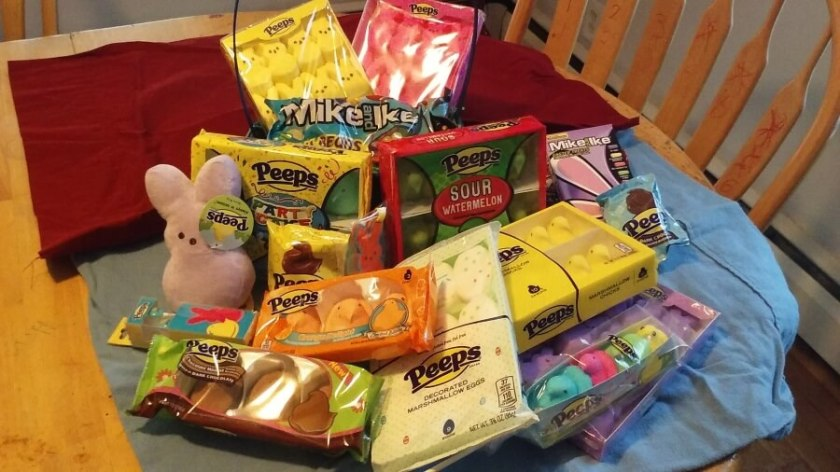 Easter Basket Peeps Options